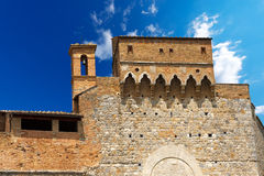 Porta San Giovanni - San Gimignano Italien Stockfotografie
