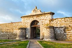 Porta San Marco, the gateway to Port Stock Images