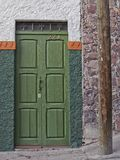 Porta in San Miguel de Allende, Guanajuato, Messico Immagini Stock Libere da Diritti