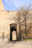 Porta San Pancrazio arkivbilder