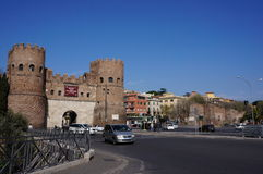 Porta San Paolo Stock Photography