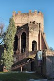 The Porta San Paolo in Rome Stock Images