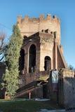 The Porta San Paolo in Rome Stock Photo