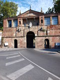 Porta San Pietro, Lucca, Italy Stock Images