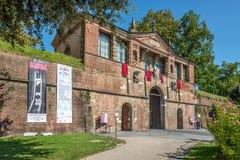 Porta San Pietro in Lucca Stock Images