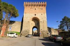 "Porta Sant ""Angelo a Perugia, Italia fotografia stock"