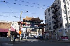 Porta Seattle da cidade de China fotos de stock royalty free