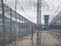 Porta seis, Nevada State Prison histórica, Carson City Fotografia de Stock