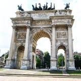 Porta Sempione Fotografia Stock