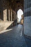 Porta sob a torre Utrecht dos DOM Imagens de Stock