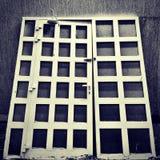 A porta solitária Fotografia de Stock Royalty Free