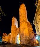 Porta Soprana, an ancient gate of Genoa Royalty Free Stock Photos