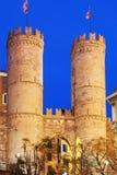 Porta Soprana in Genua Royalty-vrije Stock Afbeelding