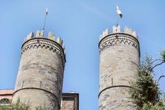 Porta Soprana w genui, Włochy Fotografia Royalty Free