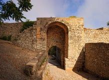 Porta Spada, Erice Fotografering för Bildbyråer