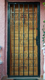 Porta in Spagna Fotografia Stock