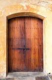 Porta spagnola Fotografie Stock