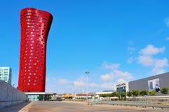 porta spain för barcelona firahotell Fotografering för Bildbyråer