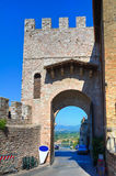 Porta St. Pietro. Assisi. Umbria. Italy. Stock Images