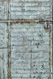 Porta suja corroída do metal Foto de Stock Royalty Free