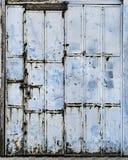 Porta suja do metal Foto de Stock