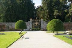 Porta sul da propriedade de Powerscourt, Enniskerry, condado Wicklow, Irlanda Imagem de Stock