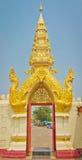 Porta tailandesa do templo do estilo Imagem de Stock Royalty Free