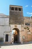 Porta Tarantina Conversano La Puglia L'Italia Fotografia Stock