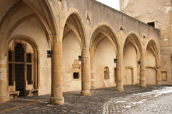Porta tedesca a Metz Fotografie Stock Libere da Diritti
