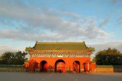 porta, templo de céu Imagem de Stock Royalty Free