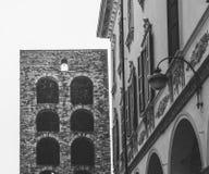 Porta Torre in Como, fine sulla vista Fotografie Stock