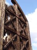 Porta tradicional Fotografia de Stock Royalty Free