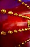 Porta tradicional chinesa Foto de Stock