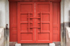 Porta tradicional chinesa Imagem de Stock
