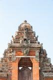 Porta tradicional do templo Fotos de Stock Royalty Free