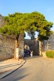 Porta Trapan, erice Foto de archivo