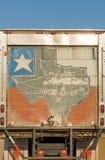 Porta traseira II do caminhão colorido da caixa imagem de stock royalty free