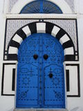 Porta tunisina fotos de stock