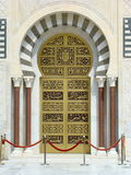 Porta tunisina imagem de stock royalty free