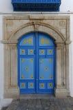 Porta tunisina tradicional Fotos de Stock Royalty Free