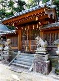 A porta a um santuário xintoísmo Imagem de Stock Royalty Free