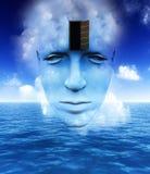 A porta a uma mente aberta 14 Imagem de Stock Royalty Free