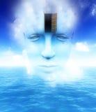 A porta a uma mente aberta 17 Imagens de Stock