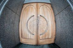 Porta a uma mesquita em Sarajevo Imagens de Stock