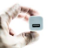 Porta USB Fotografia Stock Libera da Diritti