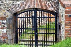 Porta velha Fotografia de Stock