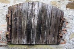 Porta velha Imagens de Stock Royalty Free