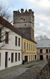 Porta velha, a cidade de Jihlava, República Checa, Europa Fotos de Stock Royalty Free