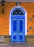 Porta velha da casa Foto de Stock