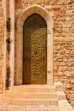 Porta velha da casa. Foto de Stock Royalty Free